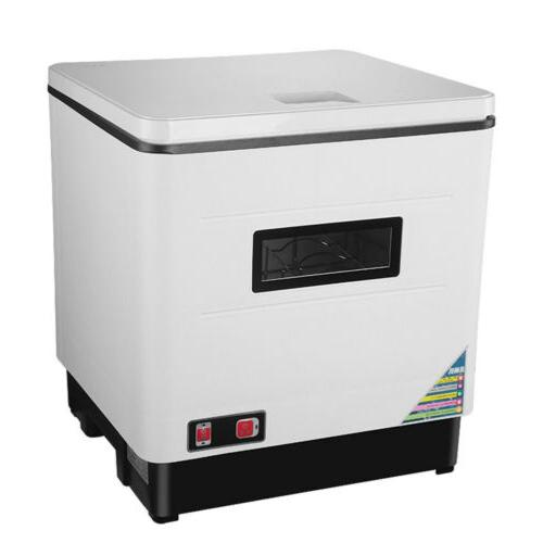 Countertop Stainless Steel Dishwasher Portable Dish Washer 12L 1500W