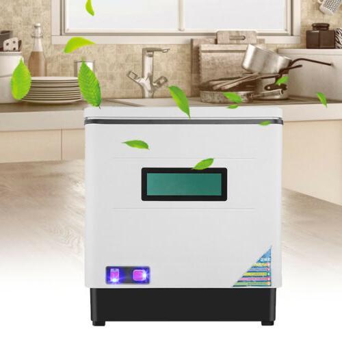 Countertop Steel Portable Automatic Dish 12L 1500W