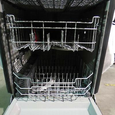 """GE GDF630PSMSS 24"""" Dishwasher 50dBA with Disposer Stainless Steel"""