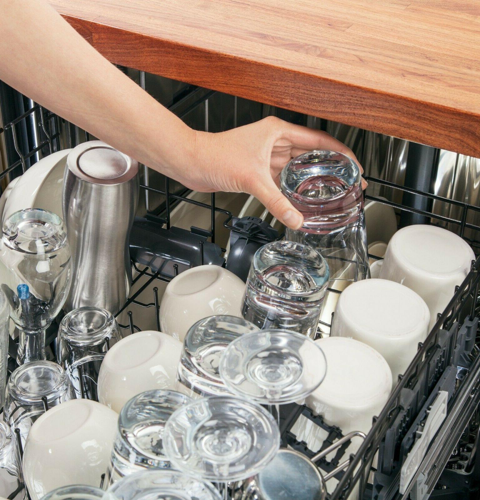 GE FULLY INTEGRATED DISHWASHER -
