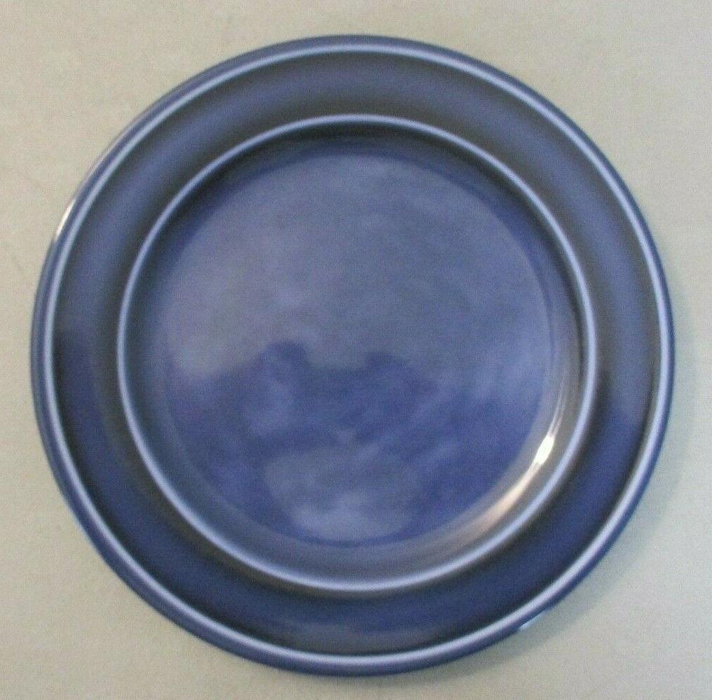 Glazed Melamine Plate Set 4, Dishwasher Safe