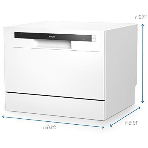 hOmeLabs - Mini Washer Interior - Dishwashers Place Setting Rack and Silverware