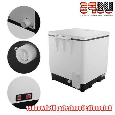 Mini Automatic Portable Stainless Steel Countertop Dishwasher