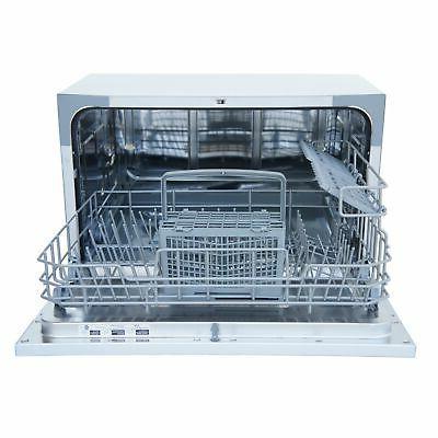 Setting Portable Countertop Dish Dishwasher