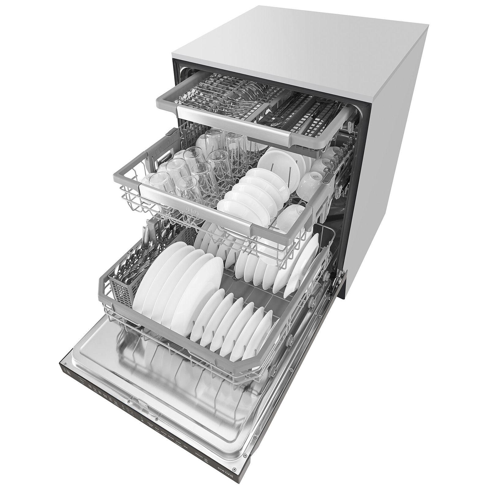 "NEW LDP6797BD 24"" Smart Top Control Dishwasher"
