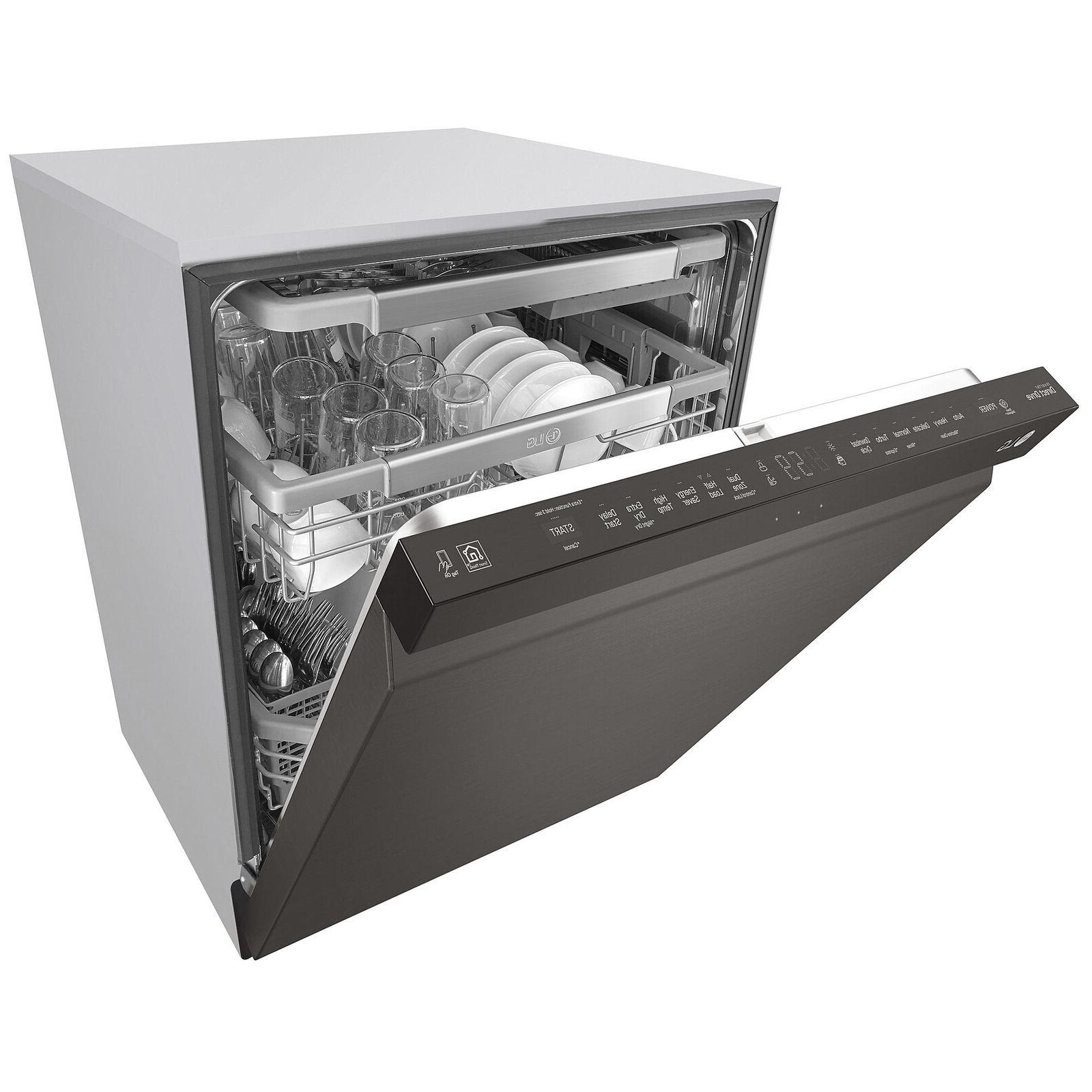 NEW FREE SHIPPING LG LDP6797BD Top Control Dishwasher
