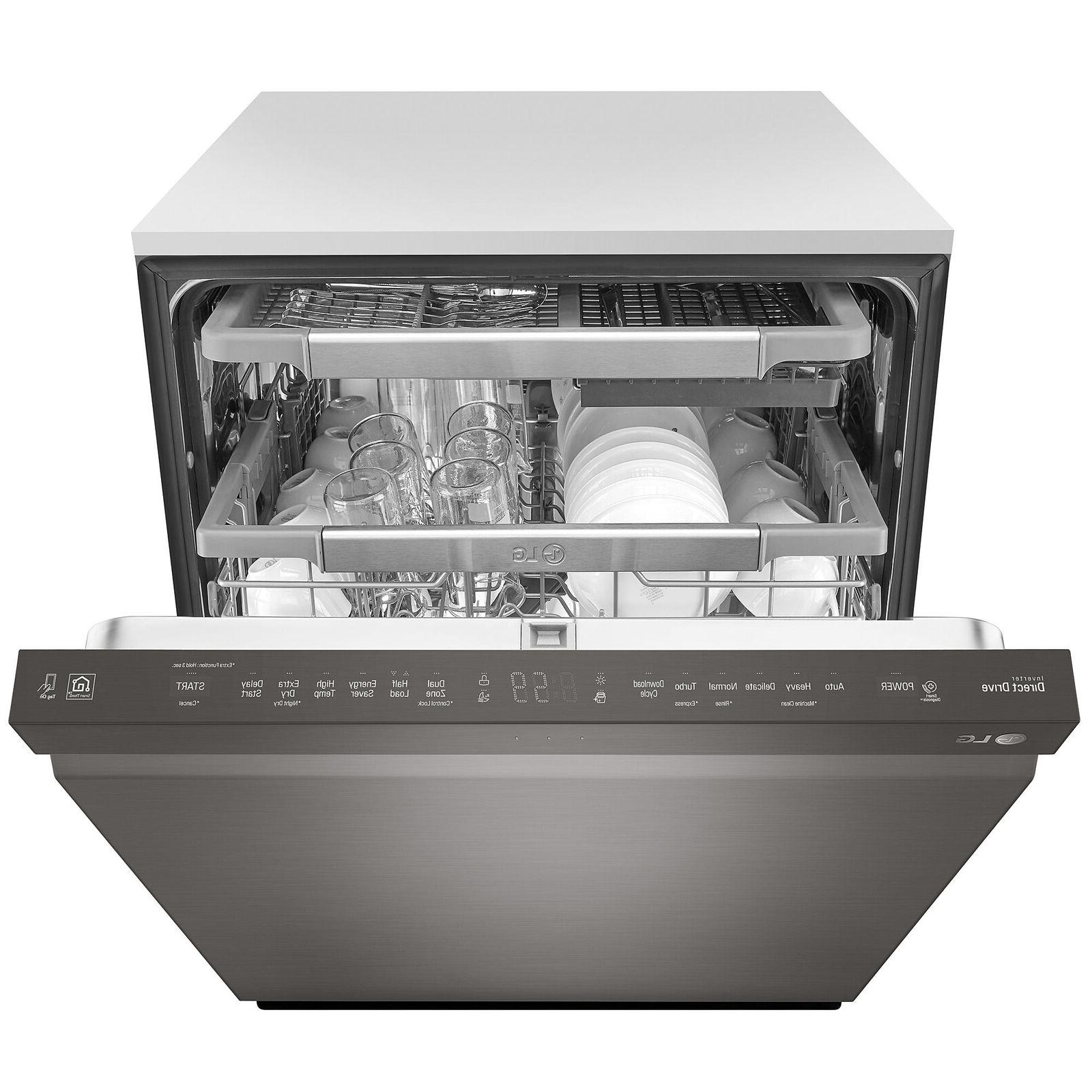 "NEW FREE SHIPPING LDP6797BD 24"" Top Control Dishwasher"