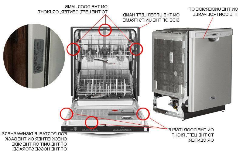 New LG EAU60710801 Dishwasher Pump Motor 1