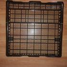 NEW OEM GE DISHWASHER COATED THIRD WIRE RACK WITH CLIPS WD30