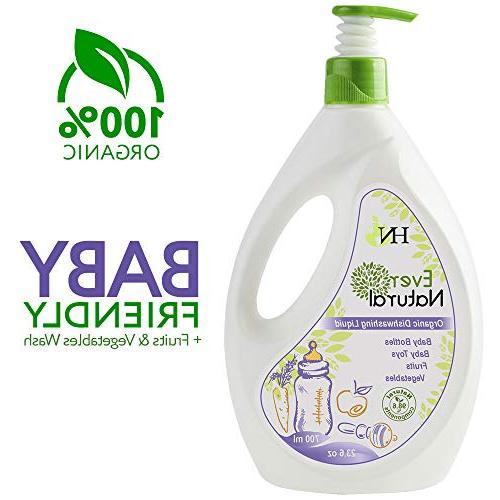 organic dishwashing cleaning liquid