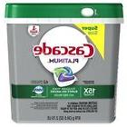 Cascade Platinum ActionPacs Dishwasher Detergent, Fresh, 62