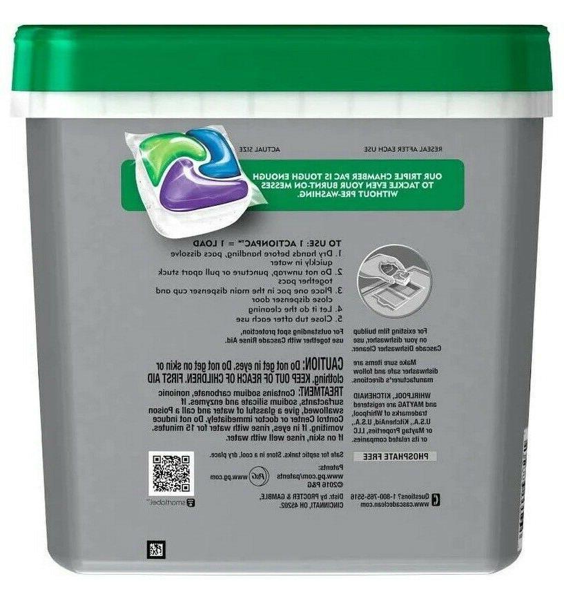 Cascade Detergent, Scent - FreeShip