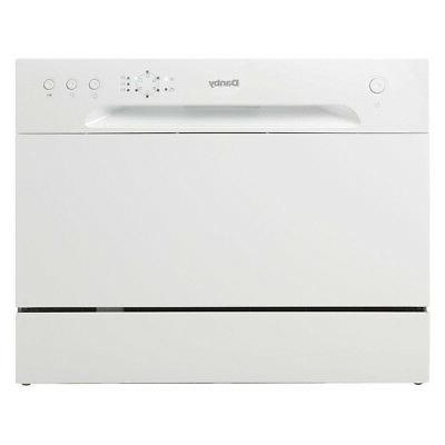 portable countertop dishwasher with 6 place setting
