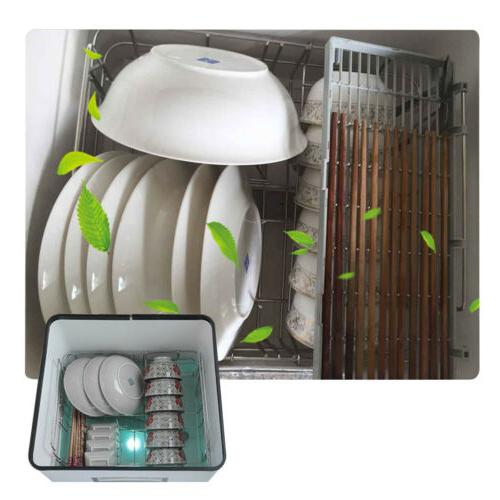 Portable Dish Automatic Dishwasher with Drying 1500W