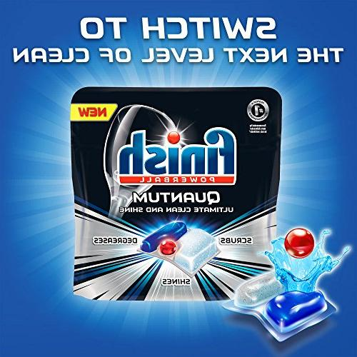 Finish All in Gelpacs 84ct, Detergent
