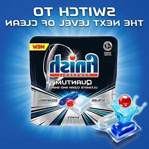 Finish Dishwasher Detergent Liquid, Scent,