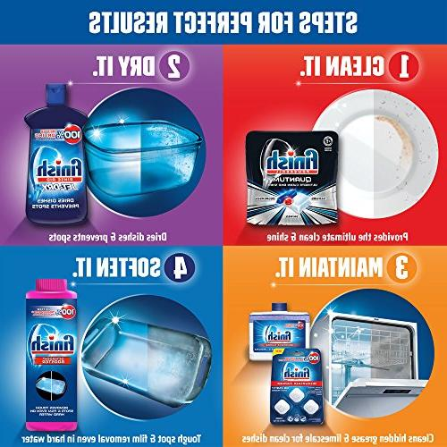 Finish Dishwasher Detergent Powerball, Ultimate Shine 68 Count