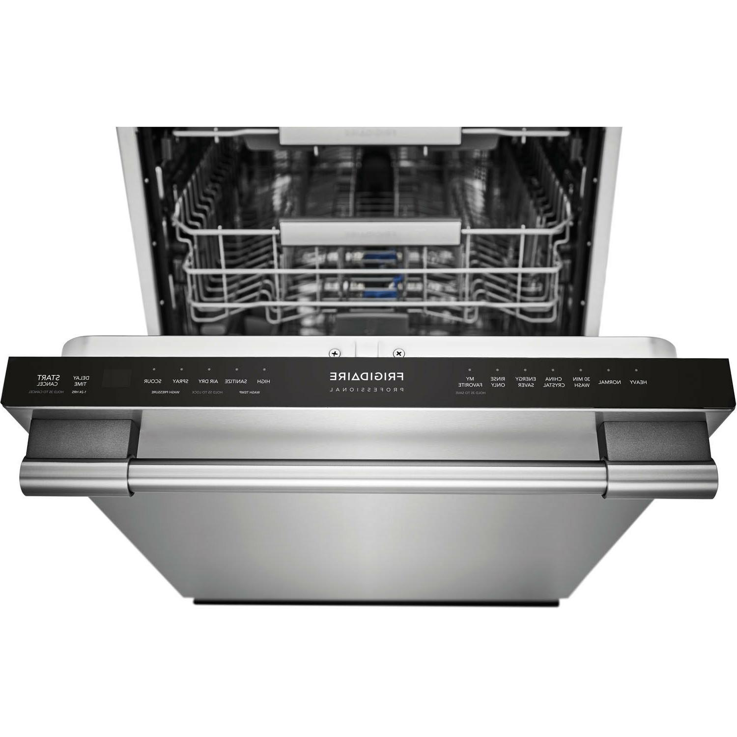 "Frigidaire Professional Stainless 24"" Built In Dishwasher Rack"