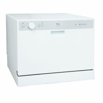 SPT White Dishwasher with