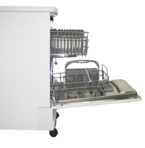 SUNPENTOWN 18 inch Portable Dishwasher - White