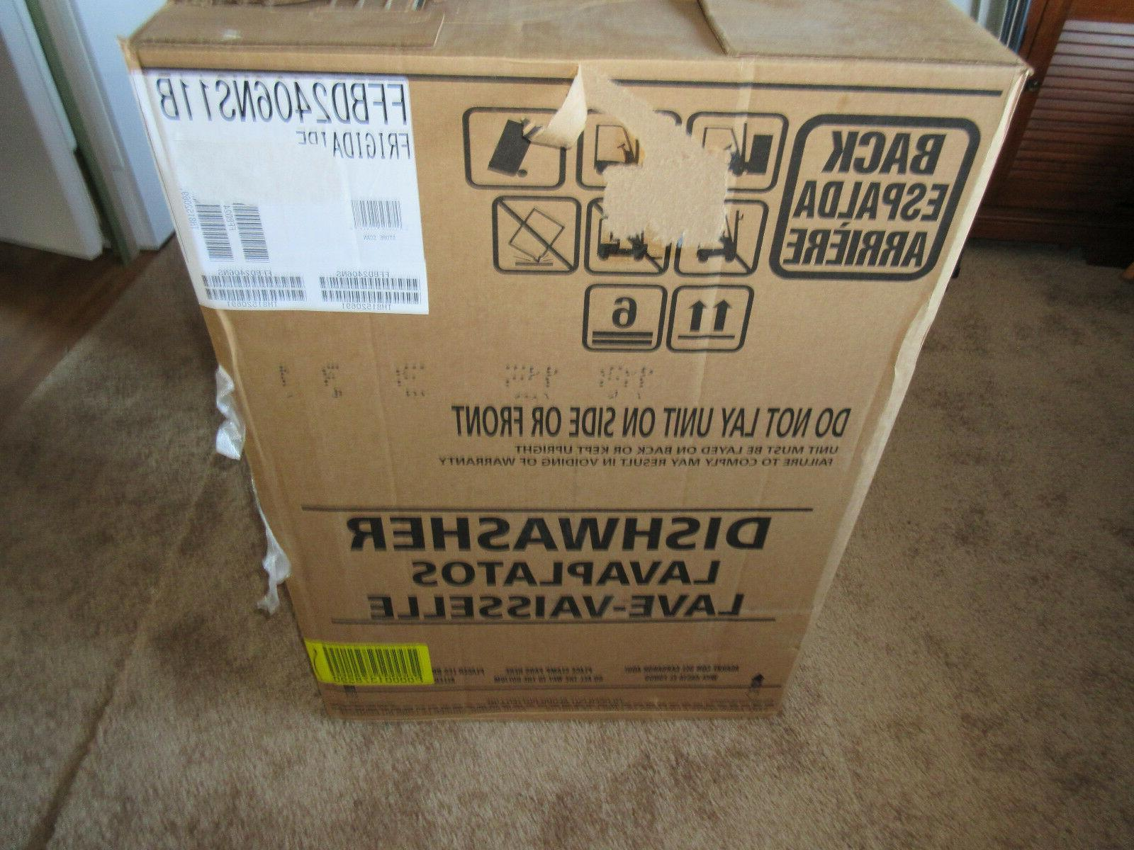 "Special Buy-Frigidaire 24"" Steel Dishwasher"