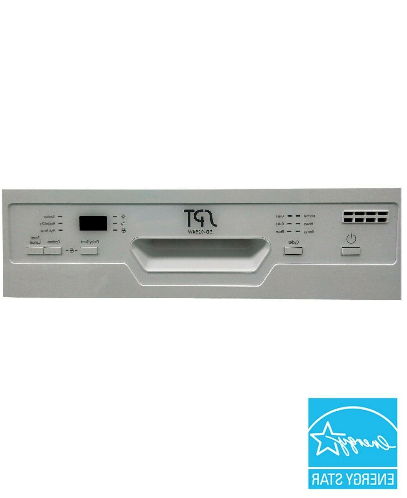 "Sunpentown 18"" Dishwasher w/Heating Drying - White"