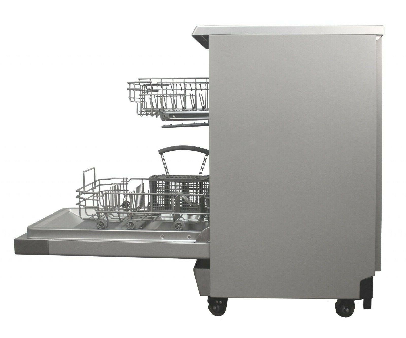Sunpentown Dishwasher-ENERGY STAR - Steel - SD-9263SS