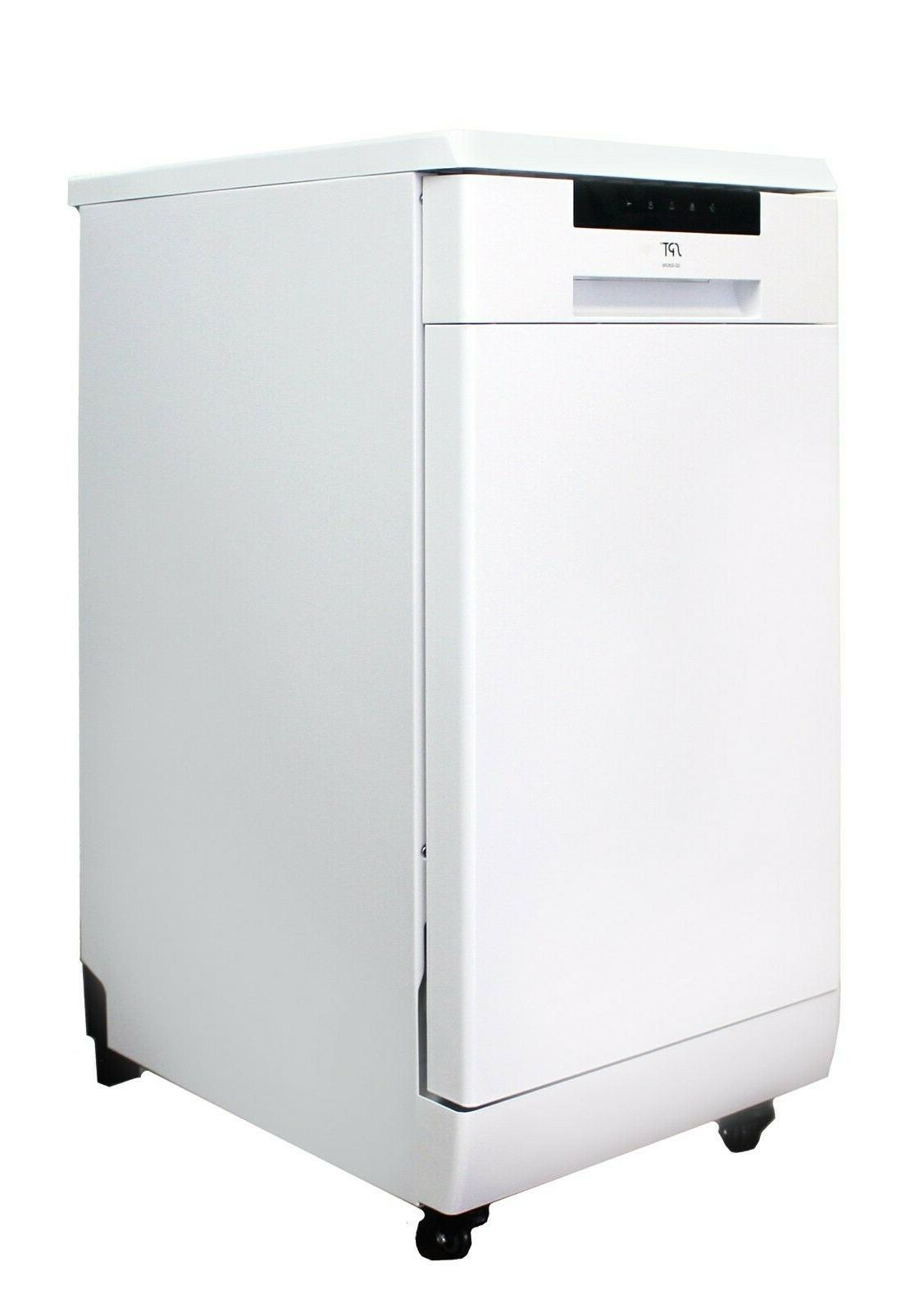"Sunpentown SPT 18"" Dishwasher - ENERGY STAR - White SD-9263W"
