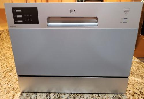 Sunpentown SPT Countertop Dishwasher with Delay Start & LED