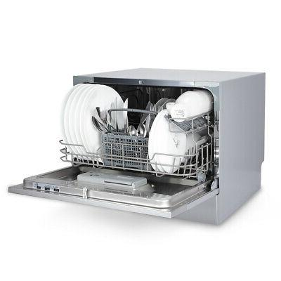 Stainless Steel Place Settings Dishwasher, Silver