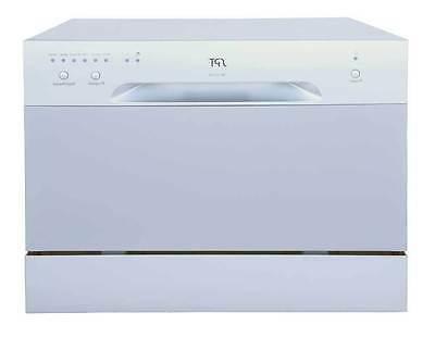 sunpentown countertop dishwasher portable compact silver sd
