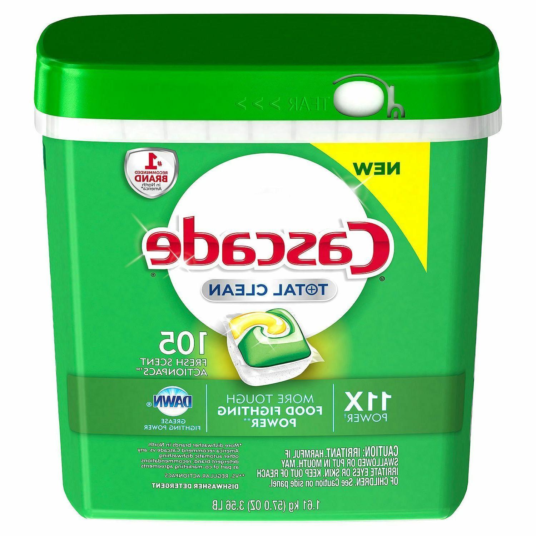total clean gel dishwasher detergent