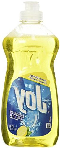 Joy Ultra Concentrating Dishwashing Liquid, Refreshing Lemon
