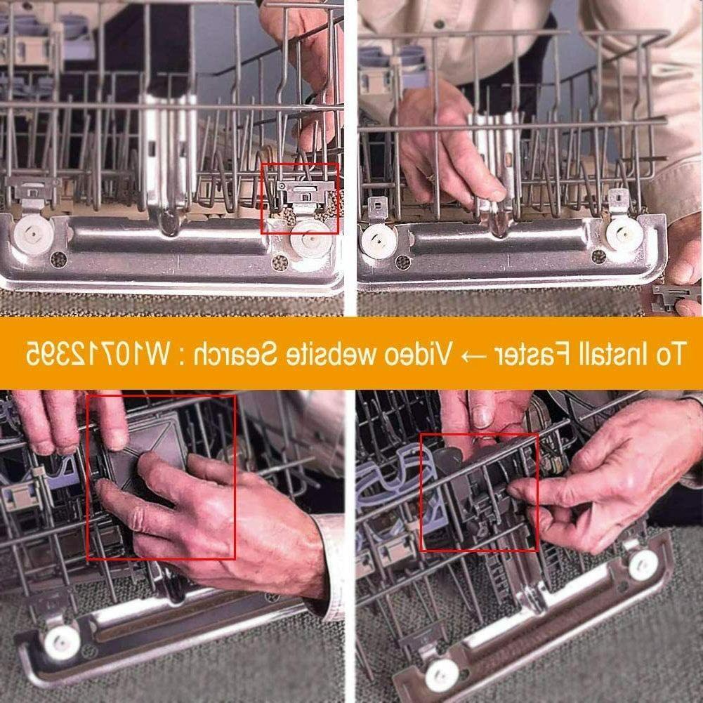 W10712395 Dishwasher Adjuster Metal Whirlpool