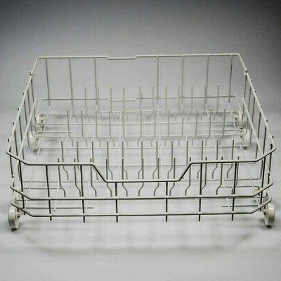 wd28x10384 dishwasher lower rack and roller assy