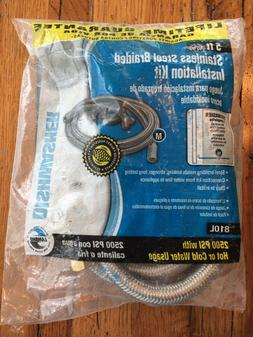 lambro industries 810l 5 braided stainless 2500