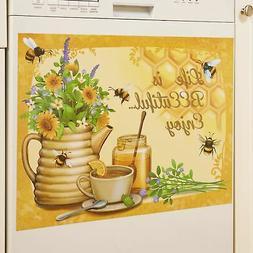 Life is Beeutiful Honey Bee Dishwasher Magnet - Rustic Kitch