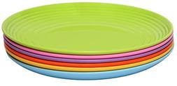 Melange 6-Piece  Melamine Dinner Plate Set  | Shatter-Proof