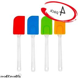 Multi-Colored BonBon Heat Resistant 4pcs Silicone Spatula Sc