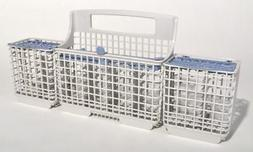 New Genuine OEM Whirlpool Dishwasher Silverware Basket W1080