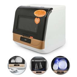New Mini Dishwasher 3 Programs LCD Display 9L for Ceramic &