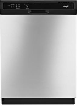 "NEW! Whirlpool 24"" Built-In Dishwasher - Stainless Steel WDF"
