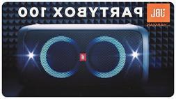 JBL Party Box 100 Portable Bluetooth Speaker - Black  *PARTY