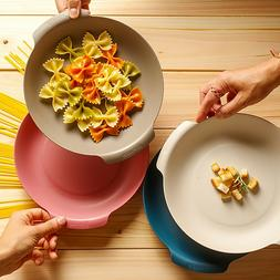Pasta Bowl 4 Set,  Stackable, Eco Friendly Microwave & Dishw