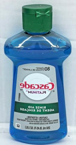 Cascade Platinum Dishwasher Rinse Aid 8.45 oz