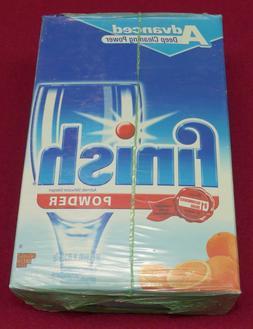 Finish Powder Dishwasher Detergent, Orange Fresh, 75 Ounces