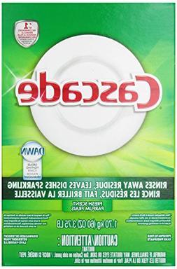 Cascade Powder Dishwasher Detergent, Fresh Scent 60 Oz