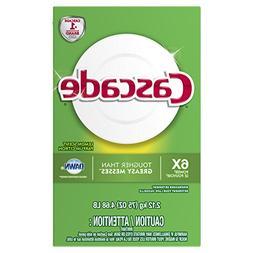 Powder Dishwasher Detergent, Lemon Scent 75 Oz