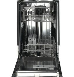 profile 18 stainless steel interior white dishwasher