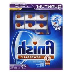 Finish Quantum Dishwasher Detergent, 45-Count )